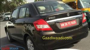 Spied: Maruti Suzuki Swift Dzire diesel AMT testing in India