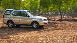 2015 Tata Safari Storme 4x4 facelift road test review