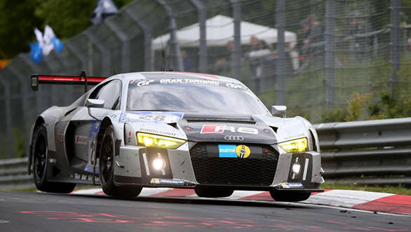 The No.28 Audi R8 LMS beat the second-placed BMW Z4 GT3 by a narrow 40 second margin