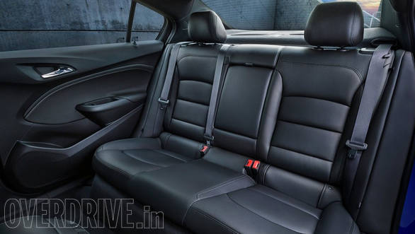 While the upholstery is done in French stitching, there is an option for heated leather seats.