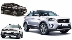 Spec comparison: Hyundai Creta vs Renault Duster vs Ford EcoSport