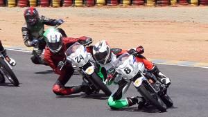 2015 FMSCI INMRC: Mathana Kumar of Ten10 Racing wins in the Group C (165cc) Open Class
