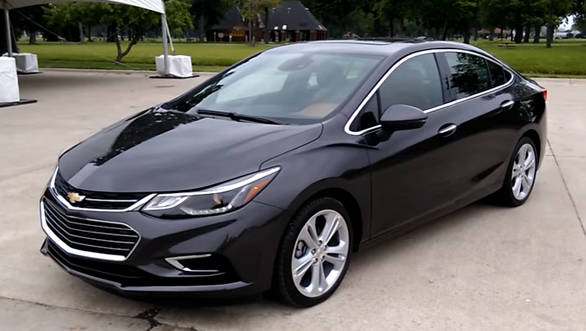 India-bound 2016 Chevrolet Cruze walkaround video by OVERDRIVE - Video
