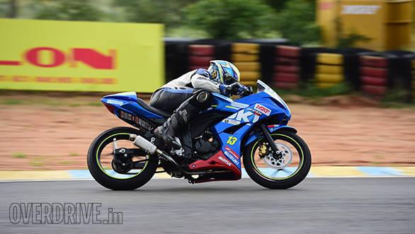 Suzuki Gixxer SF race bike (2)