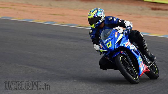 Suzuki Gixxer SF race bike (3)