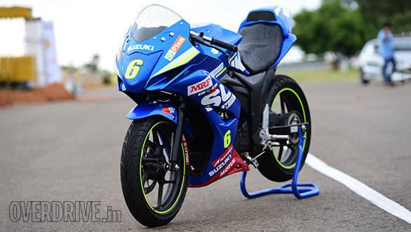 Suzuki Gixxer SF race bike (7)