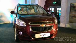 Image gallery: Meet the new India-bound Chevrolet Spin MPV