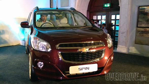 Chevrolet Spin (7)