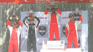 Nissan Micra Cup: Abhinay Bikkani takes double win at Mont-Tremblant