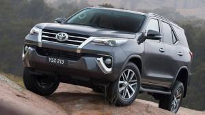 2016 Toyota Fortuner variants for India leaked