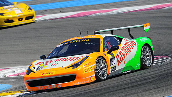 Gautam Singhania Finishes 2nd on podium in Race 2 and secures 3rd position in Race 1, Le