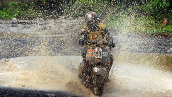 Gulf Monsoon Scooter Rally