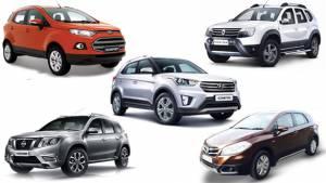 Spec comparo: Hyundai Creta vs Maruti Suzuki S-Cross vs Ford EcoSport vs Renault Duster vs Nissan Terrano