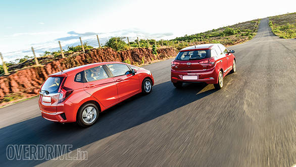 Hyundai Elite i20 vs Honda Jazz (8)