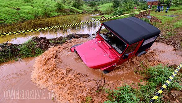 Mahindra Thar off-road