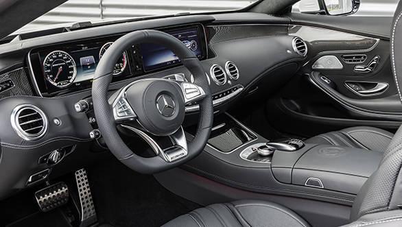 Mercedes-Benz S 63 AMG Coupé interiors