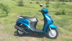 Quick Look Yamaha Fascino - Video