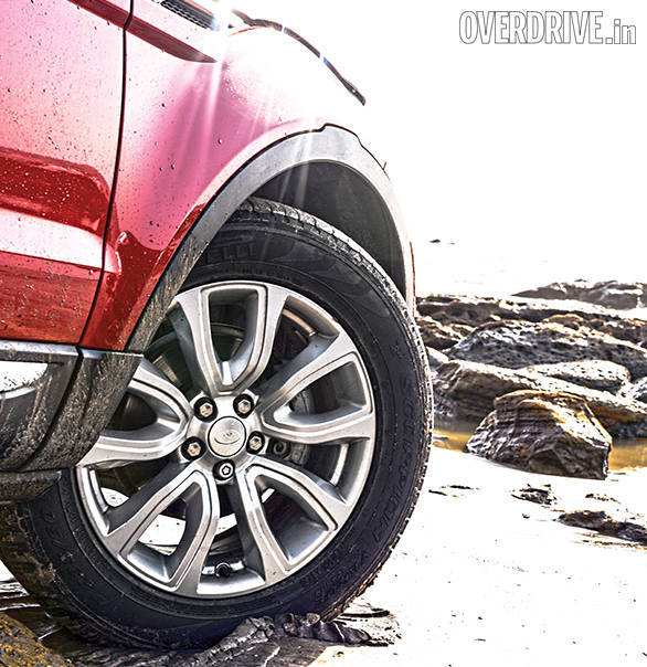The Evoque is the handy one if you plan to go off-roading