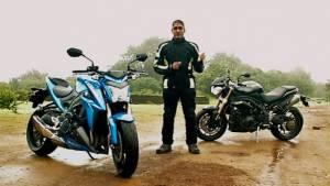 Suzuki GSX-S1000 vs Triumph Speed Triple by OVERDRIVE - Video
