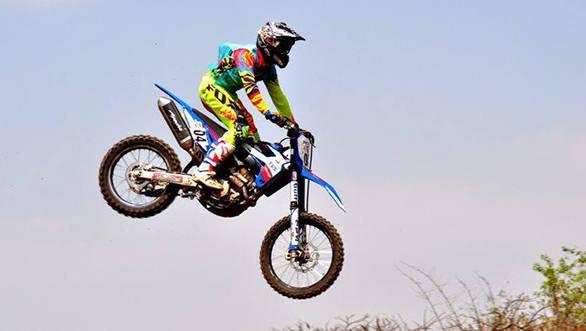 TVS Racing Aravind