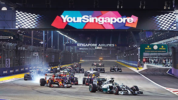 The 2015 FORMULA 1 SINGAPORE AIRLINES SINGAPORE GRAND PRIX will be held from 18 to 20 September