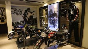 Triumph inaugurates new dealership in Indore