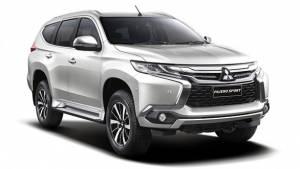 India-bound 2016 Mitsubishi Pajero Sport unveiled in Thailand