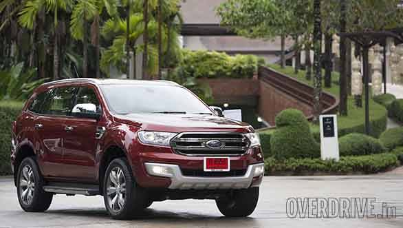 Ford Everest drive 010
