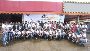 HyRyders Club, Mumbai celebrate Independence Day on a ride to Charoti