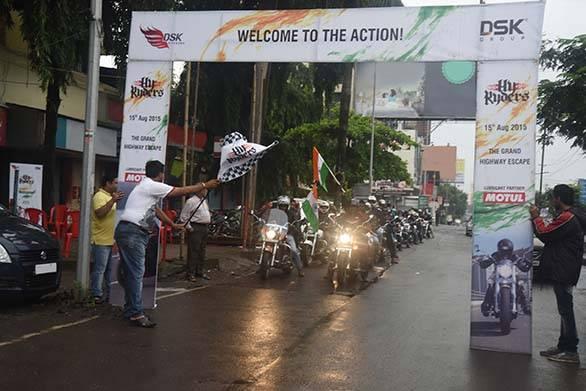 HyRyders Mumbai Flag Off