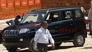 Spied: Mahindra TUV300 in India without camouflage