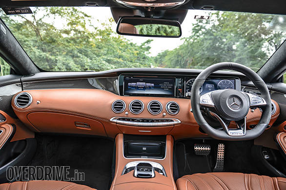 The S 63 AMG carries forward the incredibly luxurious interiors from the S-Class