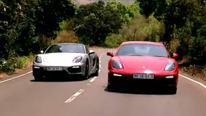 Porsche Cayman GTS & Boxster GTS - Road Test Review (India) - Video