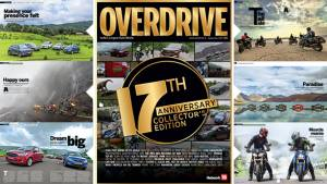 September 2015 issue of OVERDRIVE on stands