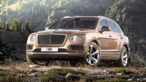 2015 Frankfurt Motor Show: Bentley unveils the Bentayga SUV