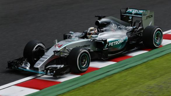 Lewis Hamilton extends his lead to 48 points in the 2015 F1 title race