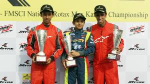 Fourth round of the JK Tyre Rotax Max Karting Championship concludes in Banglore