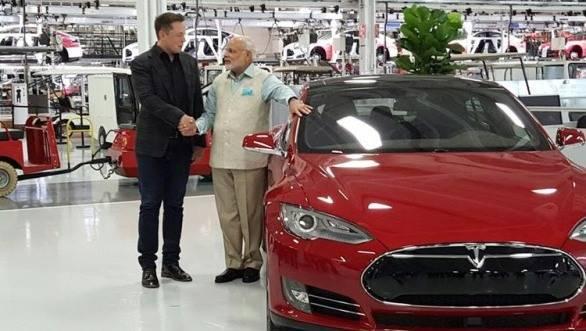 Tesla Model S featured