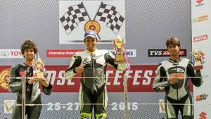 MMSC Race Fest 2015: Ananth Raj and Vishwadev Muraleedharan emerge as champions in the Suzuki Gixxer Cup