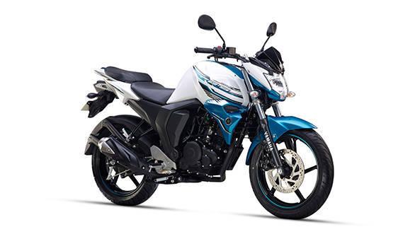 Yamaha FZ-S FI Shark White