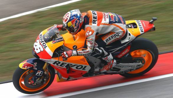 Dani Pedrosa's fine first place at Sepang was all but forgotten due to the mayhem behind him