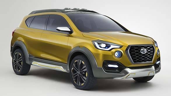 The Datsun crossover concept shown in 2015