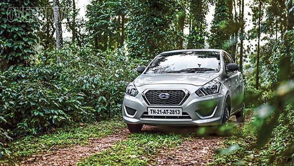 The delightful Datsun Go was a treat through the twisty hill roads that wind their way through the coffee plantations