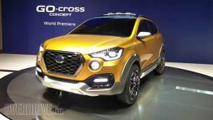 2015 Tokyo Motor Show: India bound Datsun Go-Cross concept makes debut
