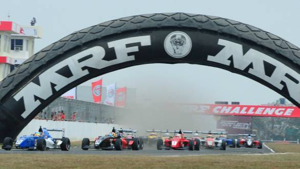 The 2015 season of the MRF Challenge will feature drivers like Pietro Fittipaldi and Harrison Newey, with three Indian drivers also on the grid