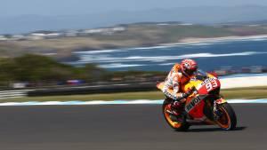 2015 MotoGP: Marc Marquez on pole at Phillip Island