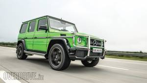 2015 Mercedes-AMG G 63 Crazy Colour road test review (India)