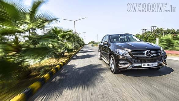 Mercedes-Benz GLE-Class 350d (1)