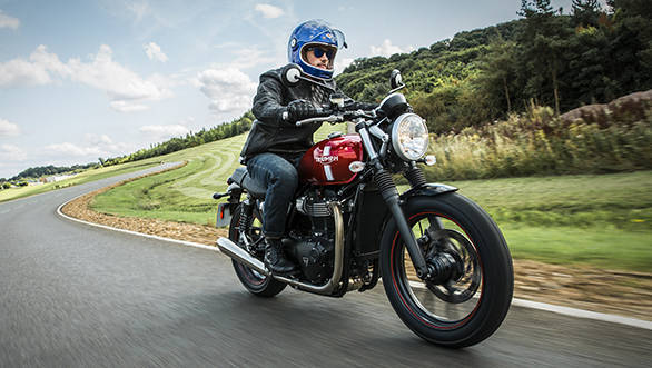 The Street Twin, to us, will be the star of sales in the 2016 Triumph Bonneville range. We haven't ridden one but we did get to sit on it. It felt compact, light and approachable