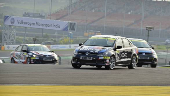 VW Vento Cup Rd 3 Anindith Reddy BIC